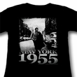James Dean Juniors Shirt New York 1955 Black Tee T-Shirt