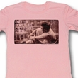 James Dean Juniors Shirt Strong Light Pink Tee T-Shirt