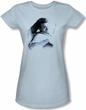 James Dean Juniors T-shirt Picture This Too Light Blue Tee Shirt