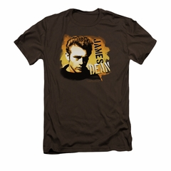 James Dean Shirt Slim Fit Serious Coffee T-Shirt