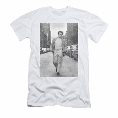 James Dean Shirt Slim Fit Walk The Walk White T-Shirt