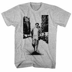 James Dean Shirt Street Walker Adult Heather Grey Tee T-Shirt