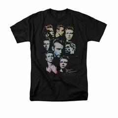 James Dean Shirt Sweater Series Black T-Shirt