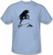 James Dean T-shirt Picture This Too Adult Light Blue Tee Shirt