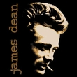 James Dean T-shirt Smoke Adult Black Tee Shirt