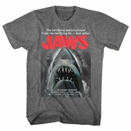Jaws Shirt Beware Athletic Heather T-Shirt