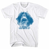 Jaws Shirt Blue Cloud White T-Shirt