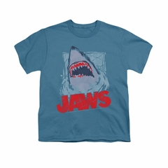 Jaws Shirt Kids From The Depths Slate T-Shirt