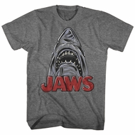 Jaws Shirt Schetchy Shark Athletic Heather T-Shirt
