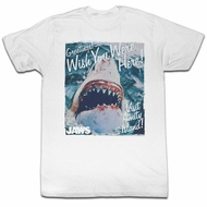 Jaws Shirt Wish You Were Here White T-Shirt