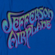 Jefferson Airplane Gradient Logo Shirts
