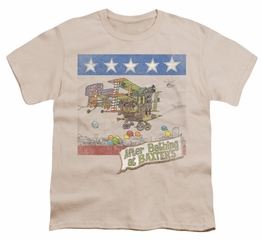 Jefferson Airplane Shirt Kids Baxter's Cover Cream Youth Tee T-Shirt