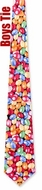 Jellybeans Black Microfiber Tie Necktie - Boy�s Food Drink Neck Tie