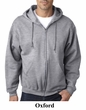 Jerzees Full Zip Hoodie Hooded Sweatshirts Nublend Fleece Hoody