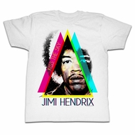 Jimi Hendrix Shirt Kiss The Sky White T-Shirt