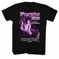 Jimi Hendrix Shirt Purple Haze Black T-Shirt