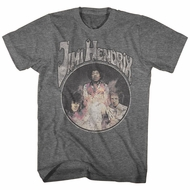Jimi Hendrix Shirt Super Old Athletic Heather T-Shirt