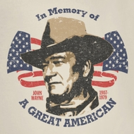 John Wayne In Memory Of Shirts