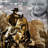 John Wayne Riding Sublimation Shirts