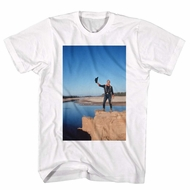 John Wayne Shirt Cliff Edge White T-Shirt