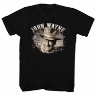 John Wayne Shirt Signature Black T-Shirt