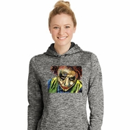 Joker Face Ladies Moisture Wicking Hoodie