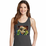 Joker Face Ladies Tank Top