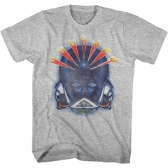 Journey Shirt Alien Head Athletic Heather T-Shirt