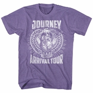 Journey Shirt Arrival Tour Heather Purple T-Shirt
