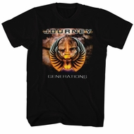 Journey Shirt Generations Black Tee T-Shirt