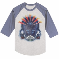 Journey Shirt Raglan Alien Head Grey/Navy Shirt