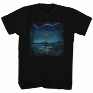 Journey Shirt Raised On Radio Black Tee T-Shirt