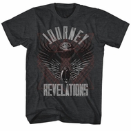 Journey Shirt Revelations Black Tee T-Shirt