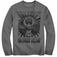 Journey Sweatshirt World Tour Grey Sweat Shirt