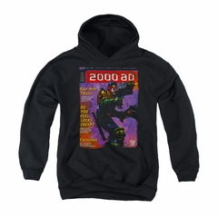 Judge Dredd Youth Hoodie 2000AD Black Kids Hoody