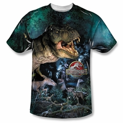 Jurassic Park Dinos Gather Sublimation Shirt