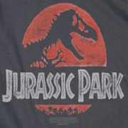 Jurassic Park Faded Logo Shirts
