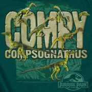 Jurassic Park Movie Compy Shirts