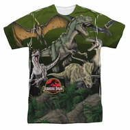 Jurassic Park Pack Of Dinos Sublimation Shirt