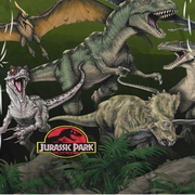 Jurassic Park Pack Of Dinos Sublimation Shirts
