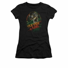 Jurassic Park Shirt Juniors Clever Girl Black Tee T-Shirt