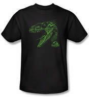 Jurassic Park T-shirt Movie Spino Mount Adult Black Tee Shirt