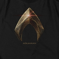Justice League Movie Aquaman Logo Shirts