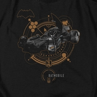 Justice League Movie Batmobile Shirts