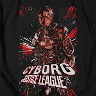 Justice League Movie Cyborg Profile Shirts