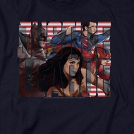 Justice League Movie Rally Shirts
