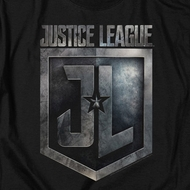 Justice League Movie Shield Logo Shirts