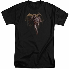 Justice League Movie Shirt Caped Crusader Black Tall T-Shirt