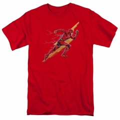 Justice League Movie Shirt Flash Forward Red T-Shirt