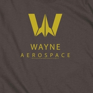 Justice League Movie Wayne Aerospace Shirts